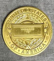 CIA Star For Valor Medal reverse