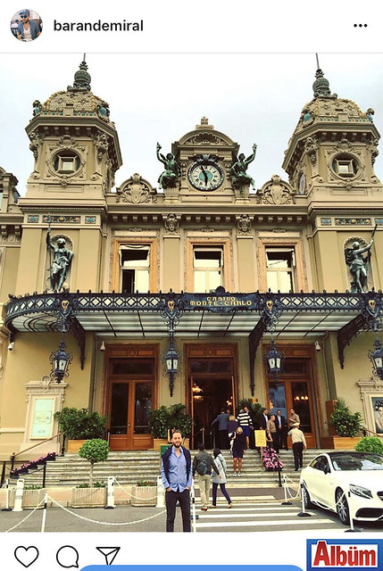 Mimsan Mimarlık & Mühendislik'in sahibi Baran Demiral, Monaco'da çektirdiği bu fotoğrafı #tbt etiketiyle paylaştı.