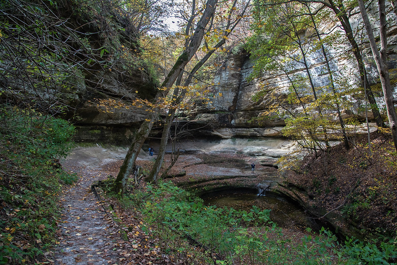Path to LaSalle Canyon