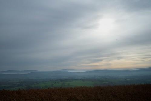 From Ragleth Hill
