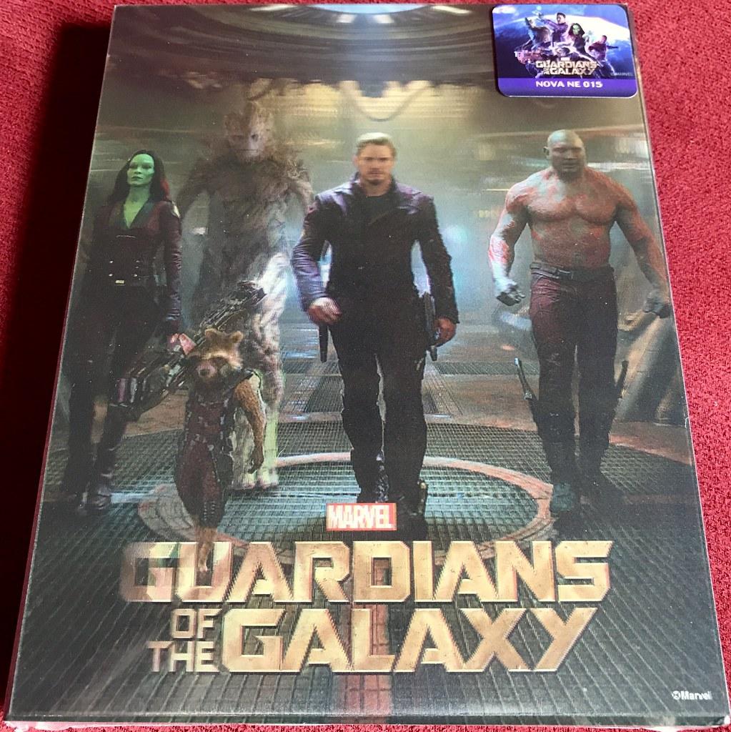 Guardians of the Galaxy - Novamedia Lenticular - Media Psychos