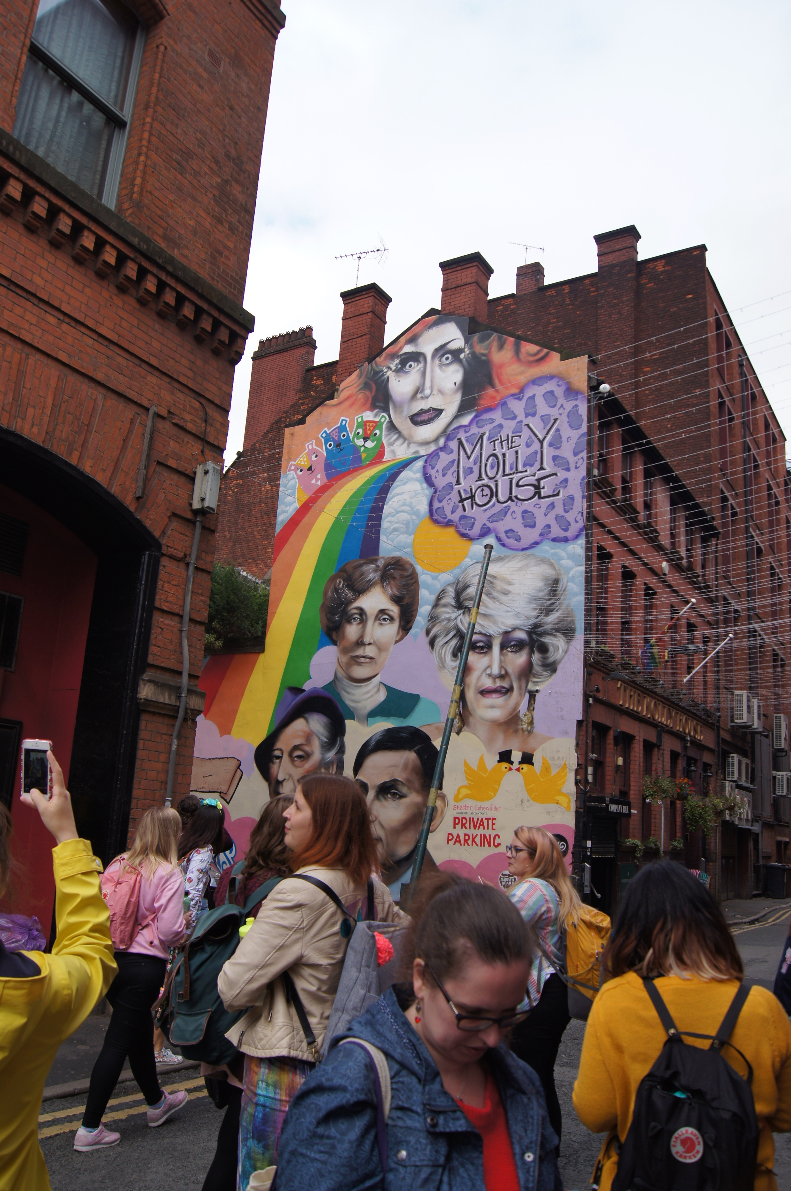 Colour Walk Manchester - mural