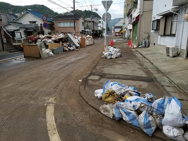 2017年 台風18号豪雨災害 大分県津久見市で災害ボランティア