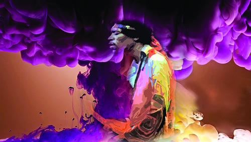 jimi bleed purple