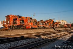NS 992600   Shoulder Ballast Cleaner   NS Memphis District