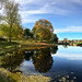 Autumn: moat and fortifications, Old Town (Gamlebyen) - Fredrikstad