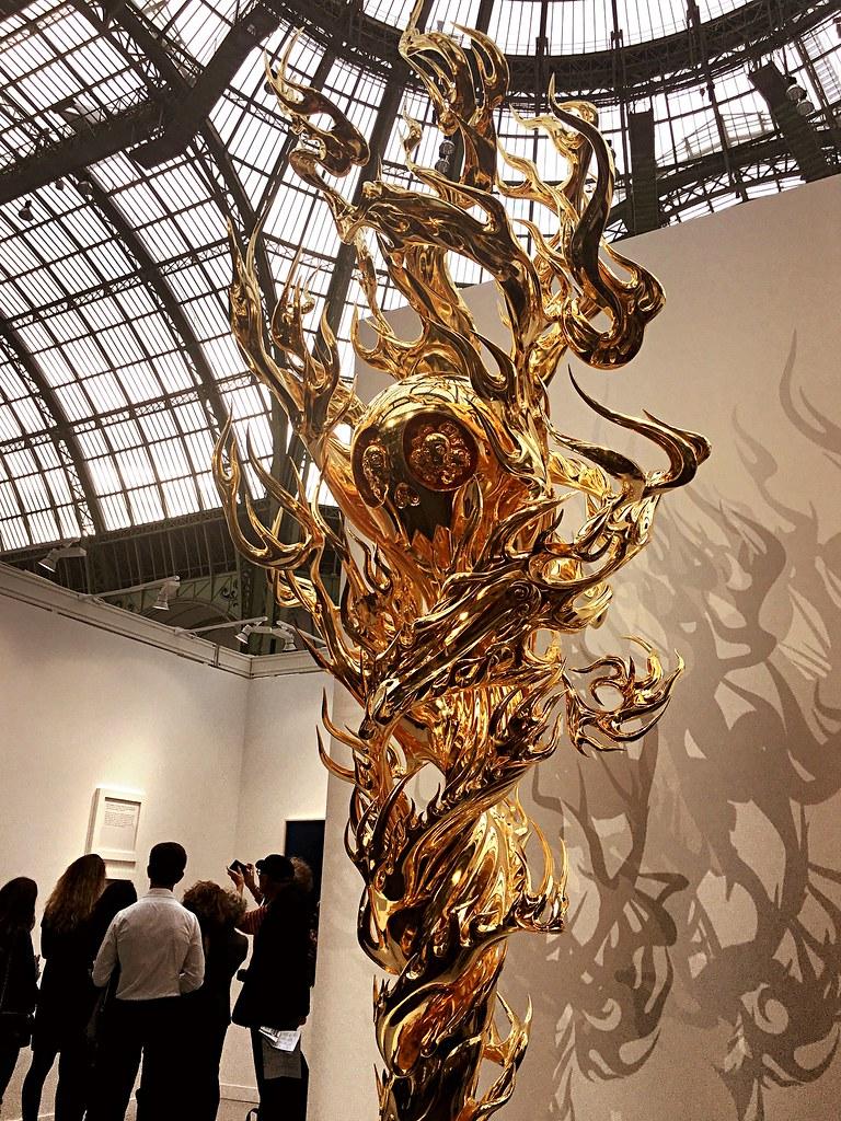 Flame Of Desire by Takashi Murakami (FIAC 2017 )