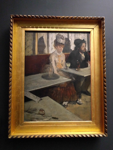 """In a Cafe"" by Degas"