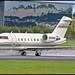 N222MC Bombardier Challenger 604 c/n 5329 McCaw Communications (EGLF) 01/10/2017