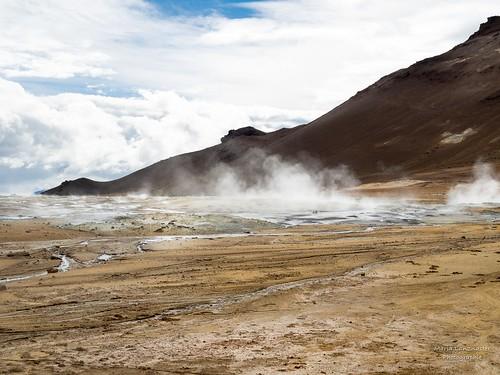Vulkanische Landschaft