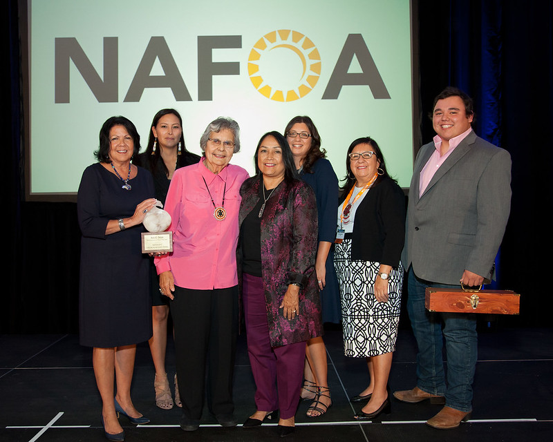 2017 NAFOA Lifetime Achievement Award Recipient Ada Deer