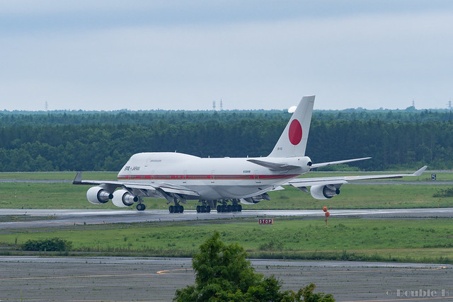 JASDF Chitose AB Airshow 2017 (2) Japanese Air Force One / 20-1101