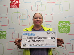 Katherine Peterson - $5,000 - Jewels Super Ticket - Boise - Big Smoke