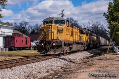 UP 9701   GE C44-9W   CSX Memphis Subdivision