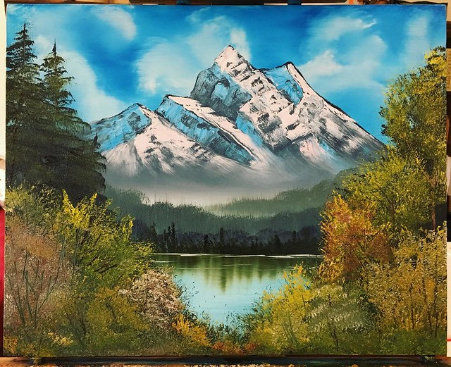 #bobross #painting #oilpainting
