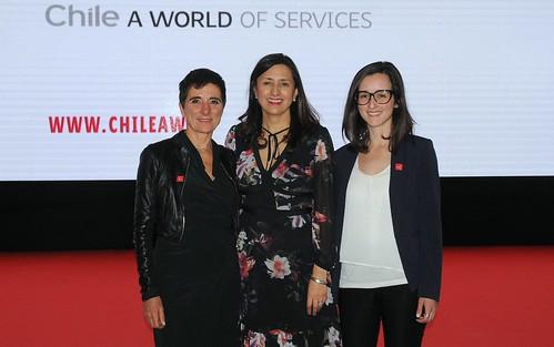 Campaña internacional busca posicionar a Chile como referente en la oferta de servicios globales
