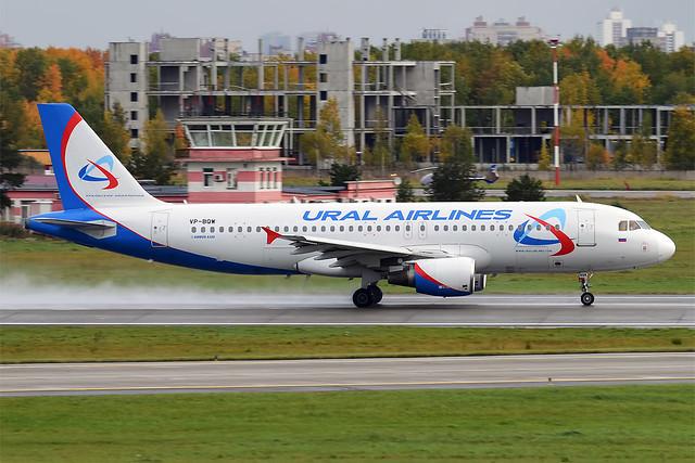 Ural Airlines, VP-BQW, Airbus A320-214