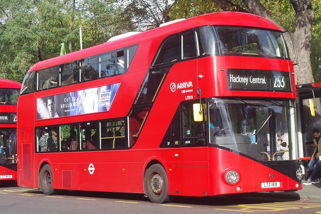 Arriva London LT818
