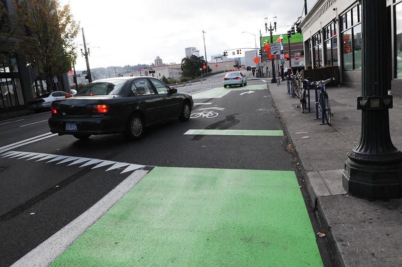 New bikeway on SE Morrison-54.jpg