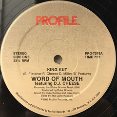 WORD OF MOUTH:KING KUT(LABEL SIDE-A)