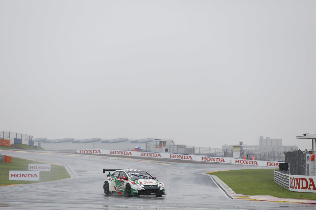 02 TARQUINI Gabriele (ita) Honda Civic team Castrol Honda WTC action   during the 2017 FIA WTCC World Touring Car Championship at Ningbo, China, October 13 to 15 - Photo Frederic Le Floc'h / DPPI