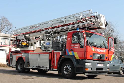 Hoogwerkerk T711 Brandweer Turnhout