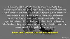 Simon Sinek 'Purpose Can Not Be Rationalized'