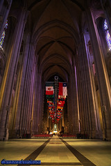 THE CATHEDRAL CHURCH OF SAINT JOHN THE DIVINE. IGLESIA. NEW YORK CITY.