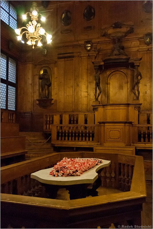 Sala do anatomii w Archginnasio w Bolonii