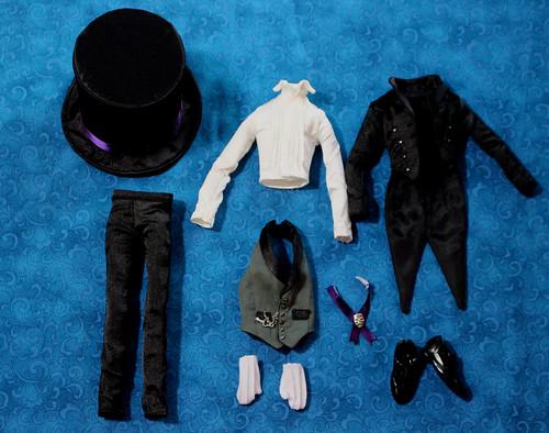 Sebastian Book of Circus Stock Outfit