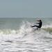 Surfer at Harlyn Bay Padstone Cornwall