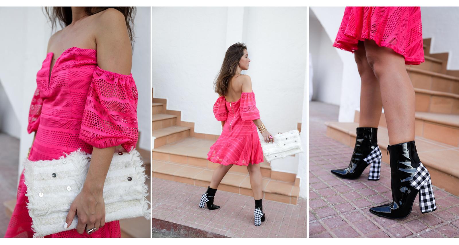 011_vestido_rosa_off_shoulder_danity_paris_pink_dress_theguestgirl_outfit_boots_vichy_trend_alert