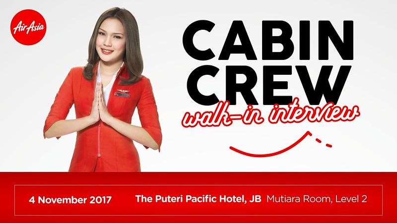 Airasia Cabin Crew Walk In Interview Johor