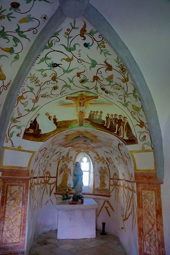Chapel at church in Globasnitz