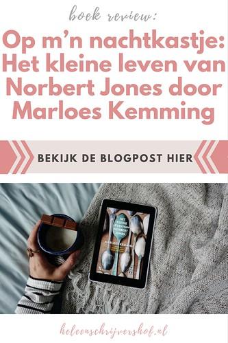 Pinterest- Op m'n nachtkastje- Het kleine leven van Norbert Jones door Marloes Kemming