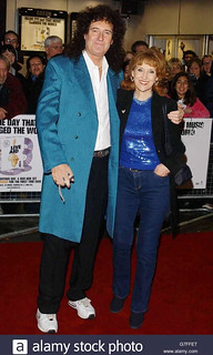 Brian May @ Live Aid DVD premiere, London - 2004