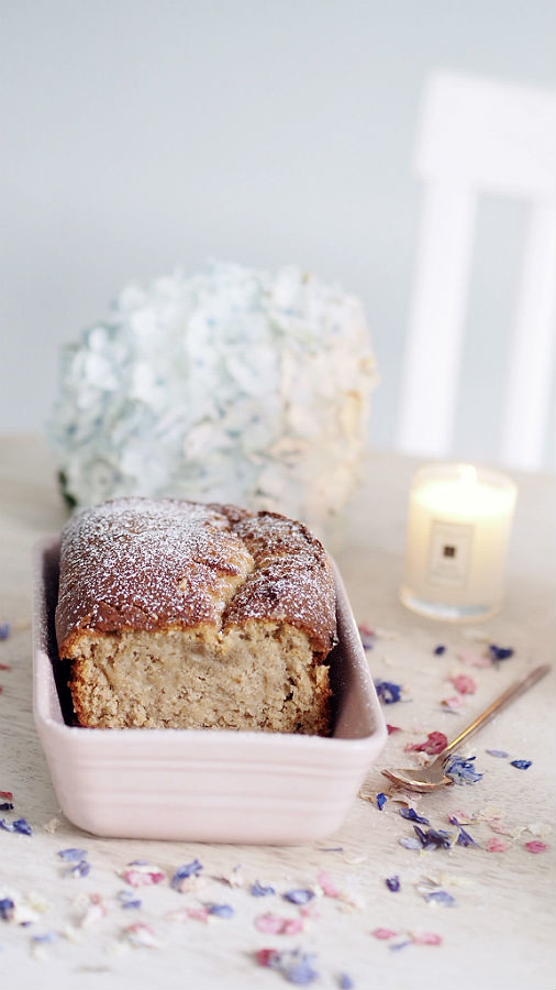 white chooclate chip banana bread 2