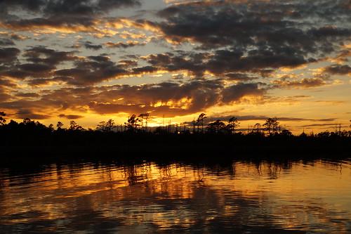sunset northcarolina northwestcreek spectacularsunsetsandsunrises clouds cloudscape cloudsstormssunsetssunrises creek fairfieldharbour sony sonya58 sonyphotographing sky
