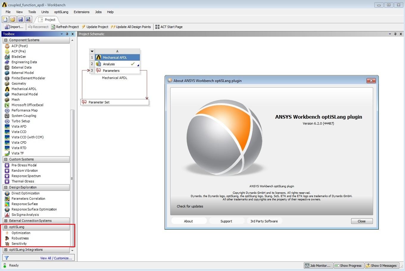ANSYS optiSLang 6.2.0.44487 x64 full license