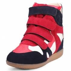 Color Matching Height Increasing Sneakers Leisure Women Shoes (89263) #Banggood