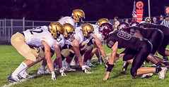 High school football: trenches