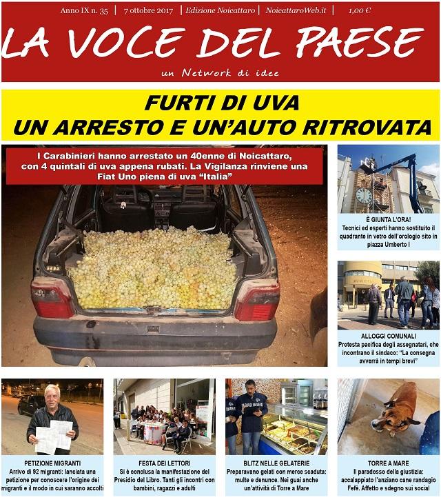 Noicattaro. Prima pagina n. 35-2017 intero