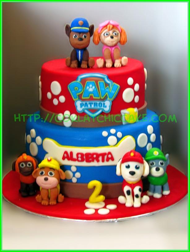 Cake Paw Patrol ALBERTA