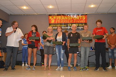 Podium catégorie master 2 masculin et féminin; 1er Christophe GINANE (Alès Triathlon), 2eme Michel ROUX (Non licencié) 3eme Jean-Michel RIEUTORD (SCAC) - Photo of Saint-Jean-de-Serres
