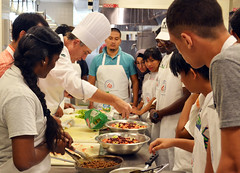 COD Community College Initiative Program Participants Cook, Learn Together 2017 5