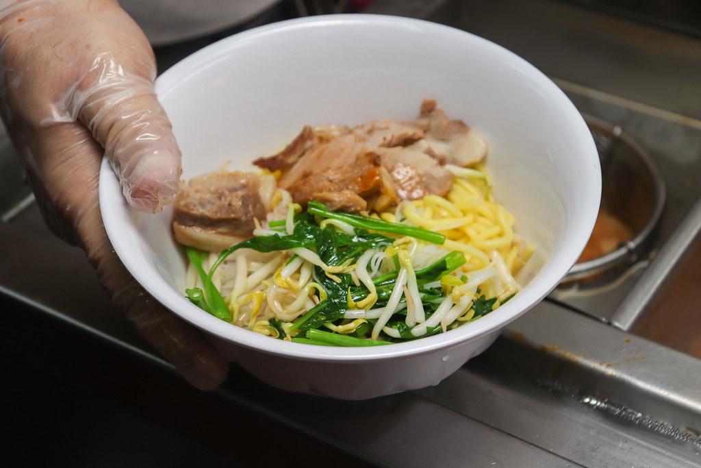 assembling noodle