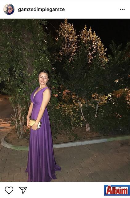 Moda Cappana Fashion House sahibi Gamze Kapan, düğün törenine giderken paylaştığı bu fotoğraf ile beğeni topladı.