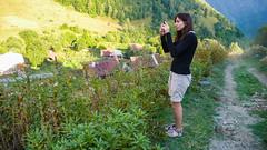 Nasza baza w małej wiosce Tsana w Kaukazize. Monika.