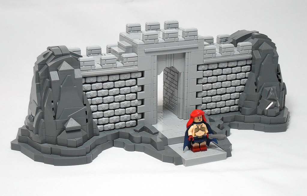 LEGO® MOC by Vitreolum: Gate of Rogatino