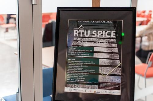 2017. gada erudītu konkurss «RTU Spice»